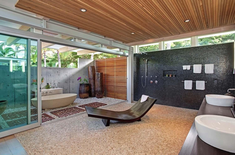 Tropical Beach Villa  Interior Design Ideas