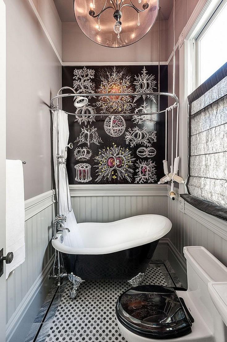Astonishing Clawfoot bathtubs with Luxury Black Finish