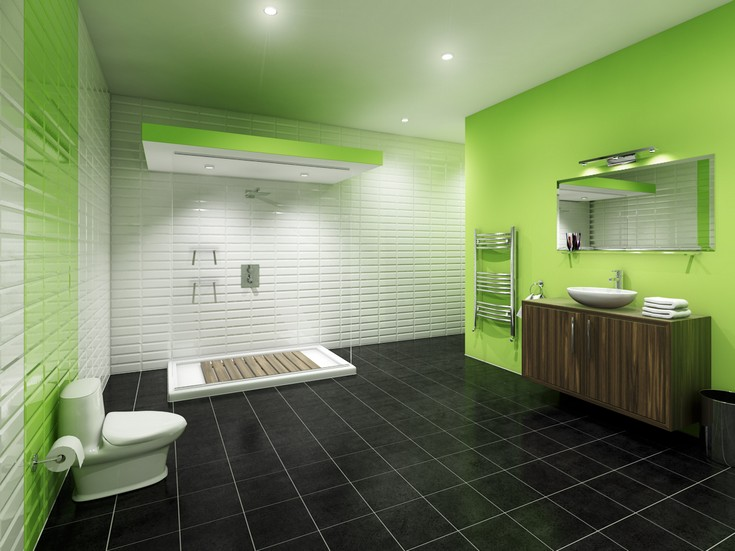 gorgeous-green-bathrooms-ideas-18 bathroom design Make a Splash into your