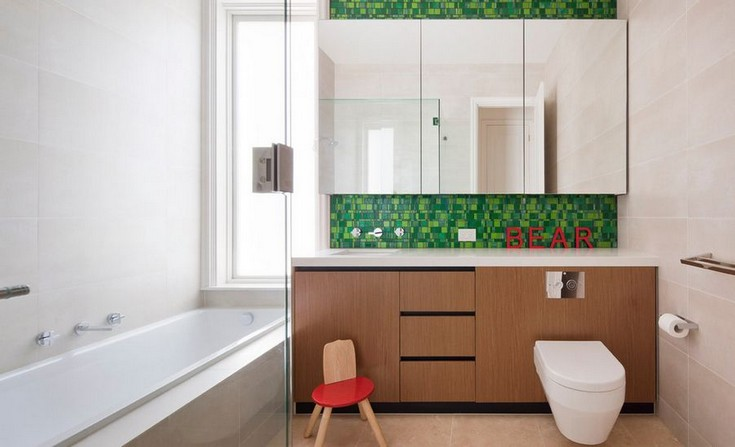 10 bathroom color schemes to embellish your decor for White and green bathroom ideas