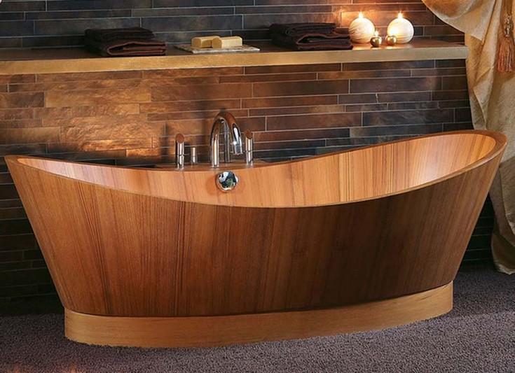 luxury wooden bathtubs maison valentina luxury bathrooms 8 wooden bathtubs Create an Amazing Bathroom Design with Wooden Bathtubs luxury wood bathtubs maison valentina luxury bathrooms 8