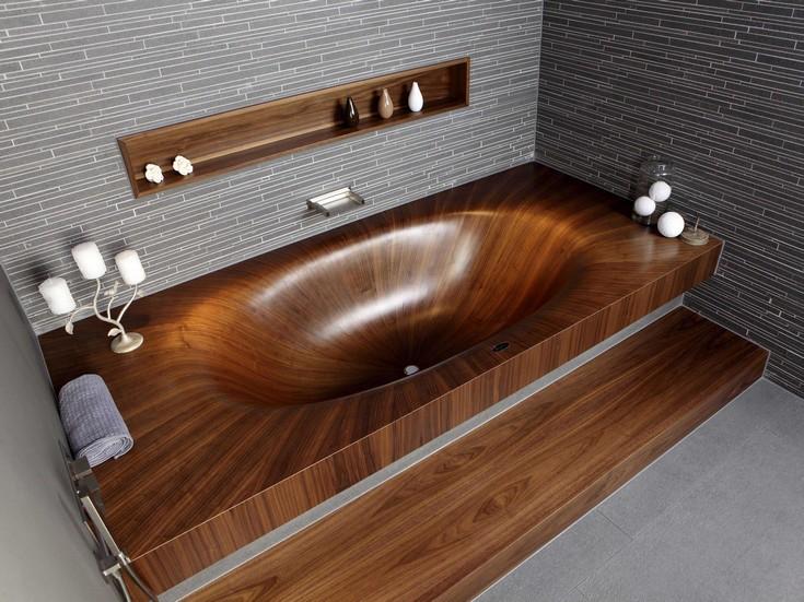 luxury wooden bathtubs maison valentina luxury bathrooms 8 wooden bathtubs Create an Amazing Bathroom Design with Wooden Bathtubs luxury wood bathtubs maison valentina luxury bathrooms 9