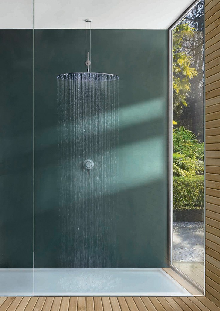 menhir outdoor rain showers head rain showers for luxury bathrooms maison valentina 88 rain showers 10 amazing rain showers head to - Luxury Rain Showers
