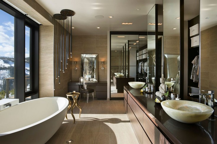 black bathroom ideas luxury bathrooms maison valentina  master bathroom ideas 50 Gorgeous Master Bathroom Ideas That Will Mesmerize You                                                                       big sky                                lc2 21