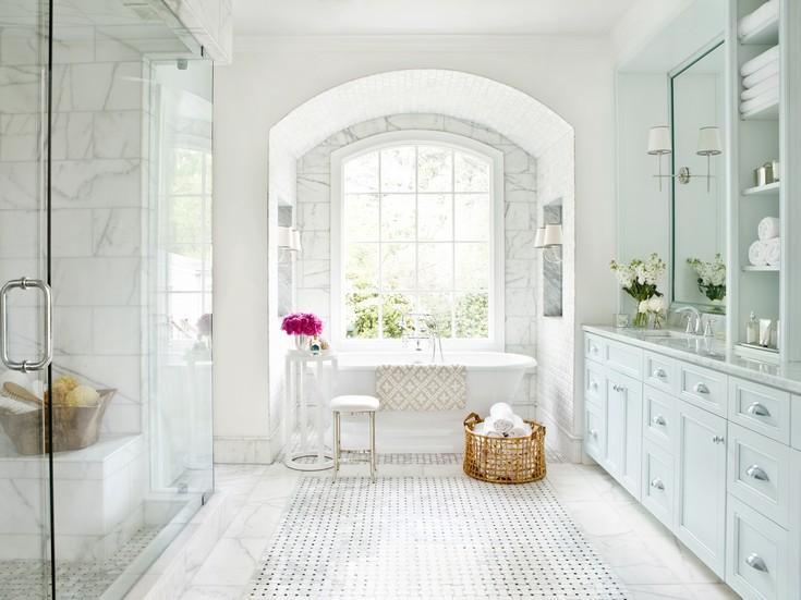 25 White Bathroom Ideas 1286 Home Decor within White Marble Bathroom Ideas master bathroom ideas 50 Gorgeous Master Bathroom Ideas That Will Mesmerize You 25 white bathroom ideas 1286 home decor within white marble bathroom ideas