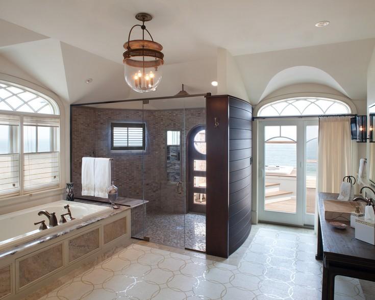 26Master-Shower master bathroom ideas 50 Gorgeous Master Bathroom Ideas That Will Mesmerize You 26Master Shower