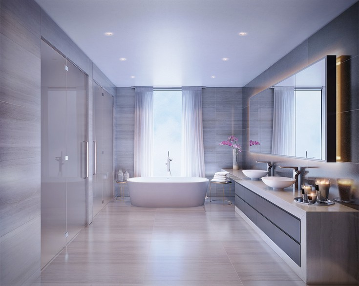 Give To Your Dream Bathroom A Calming Retreat Touch