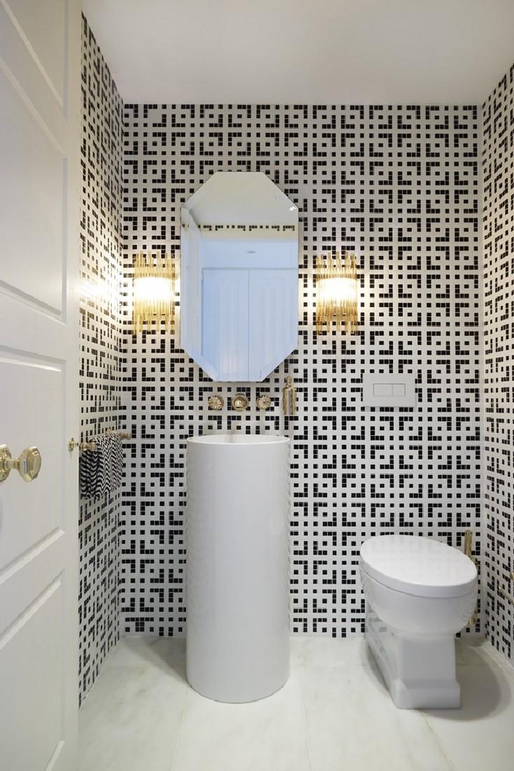 Greg Natale Luxury Elegant Mid Century Modern Bathroom
