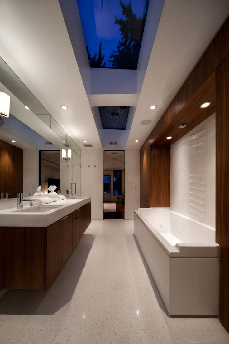 Mid-Century Modern Bathrooms Design Ideas