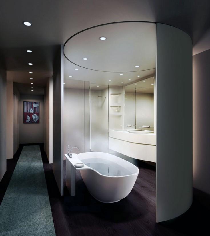 luxury bathrooms ideas for 2016  master bathroom ideas 50 Gorgeous Master Bathroom Ideas That Will Mesmerize You bathroom 5 franklin place condo