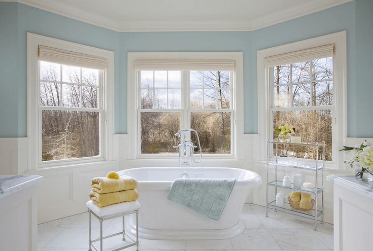 luxury bathrooms ideas for 2016  master bathroom ideas 50 Gorgeous Master Bathroom Ideas That Will Mesmerize You freshome color bathroom28