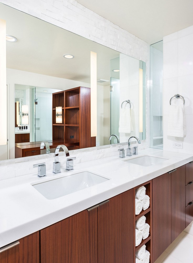 Mid Century Modern Bathrooms Design Ideas