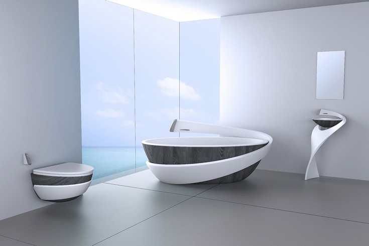 luxury bathrooms ideas with a calming retreat 5555
