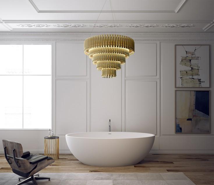 luxury bathrooms ideas with a calming retreat delightfull lighting