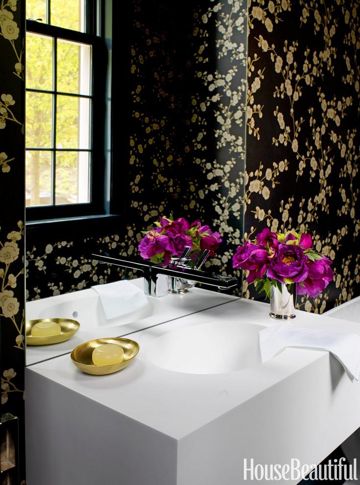 7 inspiring bathroom colors to create a perfect scheme for Bathroom wallpaper next
