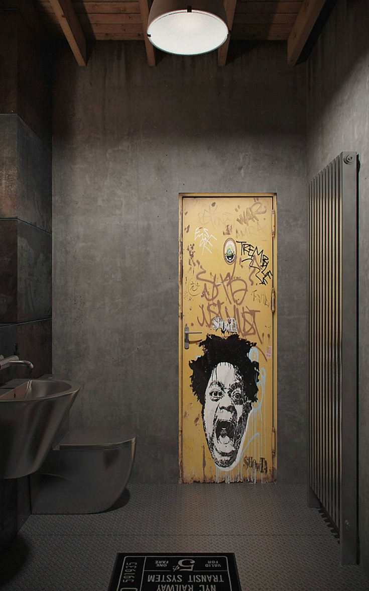 10 industrial bathroom design ideas for open minded persons