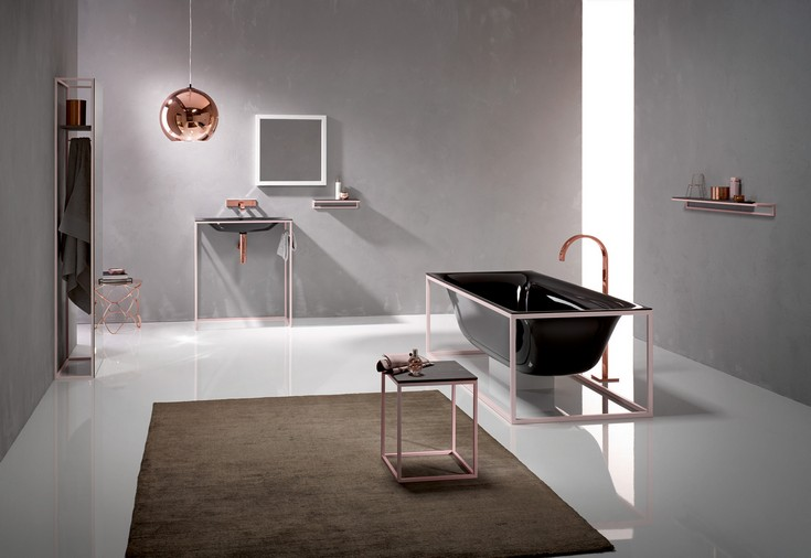 Luxury Bathrooms With Stunning Side Tables (2)  10 Luxury Bathrooms With Impressive Side Tables Luxury Bathrooms With Stunning Side Tables 21