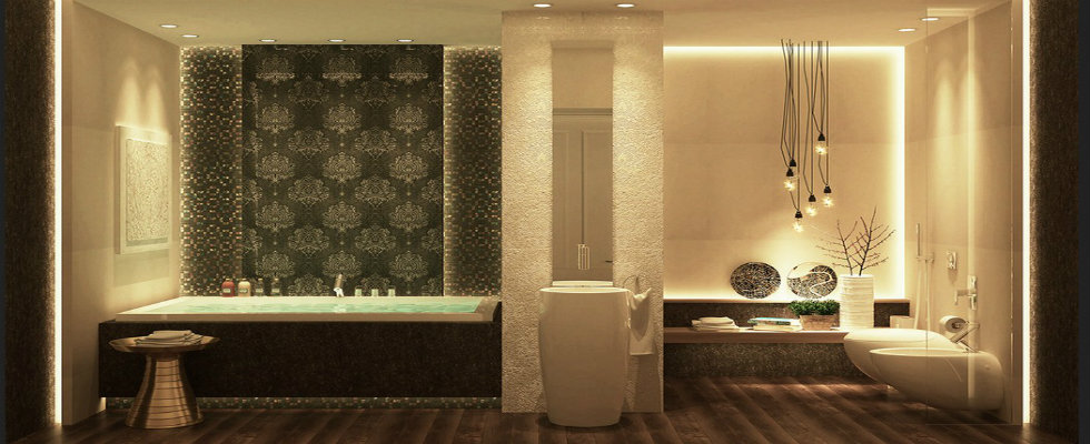luxury bathrooms Luxury Bathrooms with Graceful Details by Ahmed Mady feature image