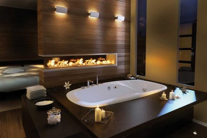 lighting-dim-lights  9 Ways to Create a Luxurious Bathroom lighting dim lights