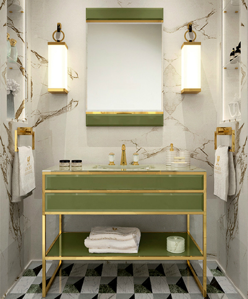 Decorate your bathroom with greenery pantone of the year 2017 for Bathroom of the year 2016