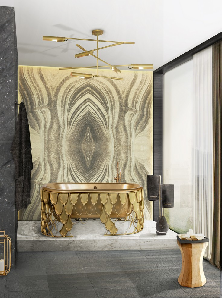 6 simple ideas to make your bathroom look luxurious  6 Simple Ideas To Make Your Bathroom Look Luxurious OUTSTANDING BATHROOM TRENDS TO WATCH IN 2017 2