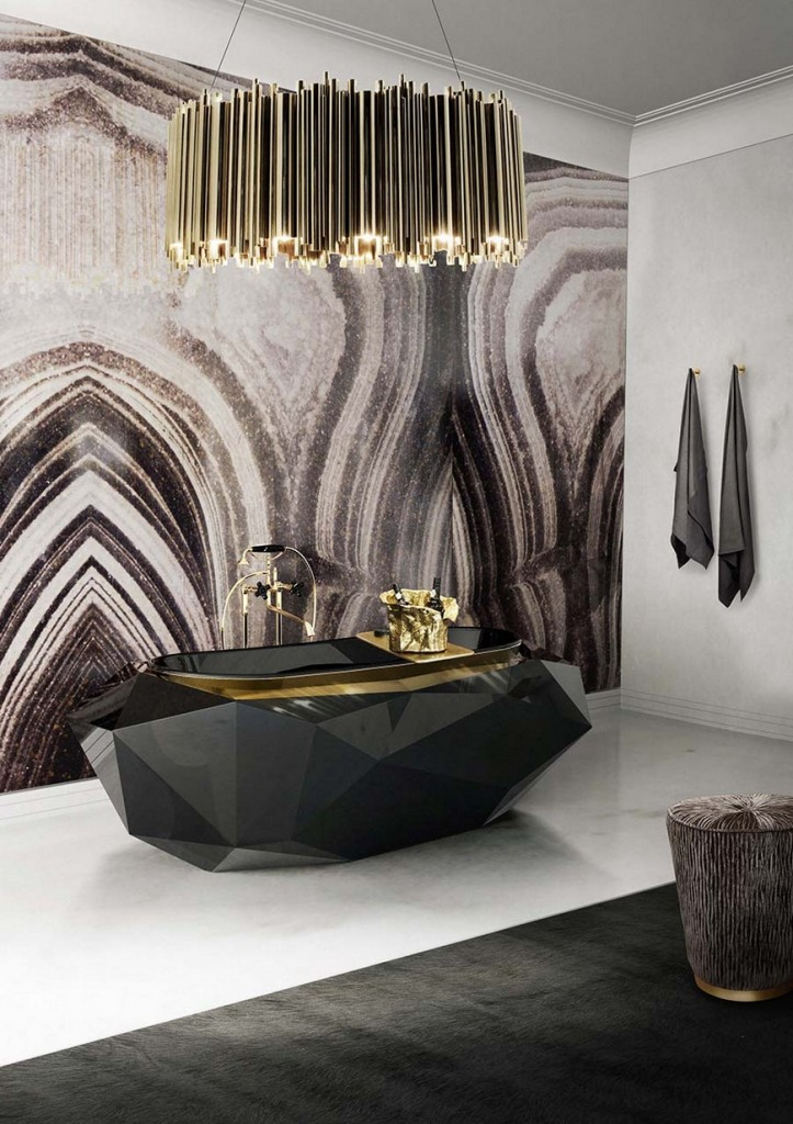 6 simple ideas to make your bathroom look luxurious  6 Simple Ideas To Make Your Bathroom Look Luxurious Most Wanted Lighting Solutions for Luxury Bathrooms 151 723x1024