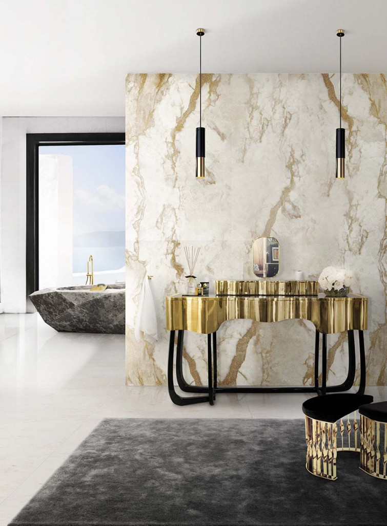 6 simple ideas to make your bathroom look luxurious  6 Simple Ideas To Make Your Bathroom Look Luxurious Unique Collection of Stunning Bathtubs For Luxury Bathrooms 11 755x1024