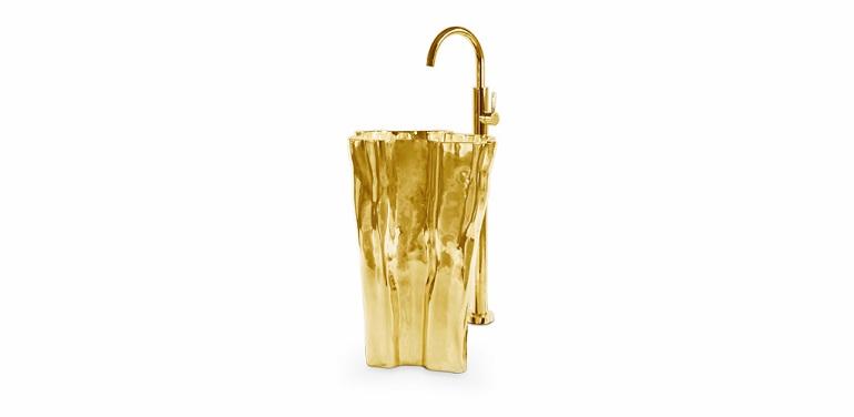 create a stunning bathroom with brass create a stunning bathroom with brass Create A Stunning Bathroom With Brass Discover Astonishing Washbasins To Enhance Your Luxury Bathroom 14