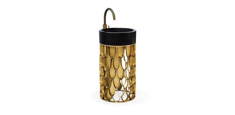 create a stunning bathroom with brass create a stunning bathroom with brass Create A Stunning Bathroom With Brass Discover Astonishing Washbasins To Enhance Your Luxury Bathroom 25