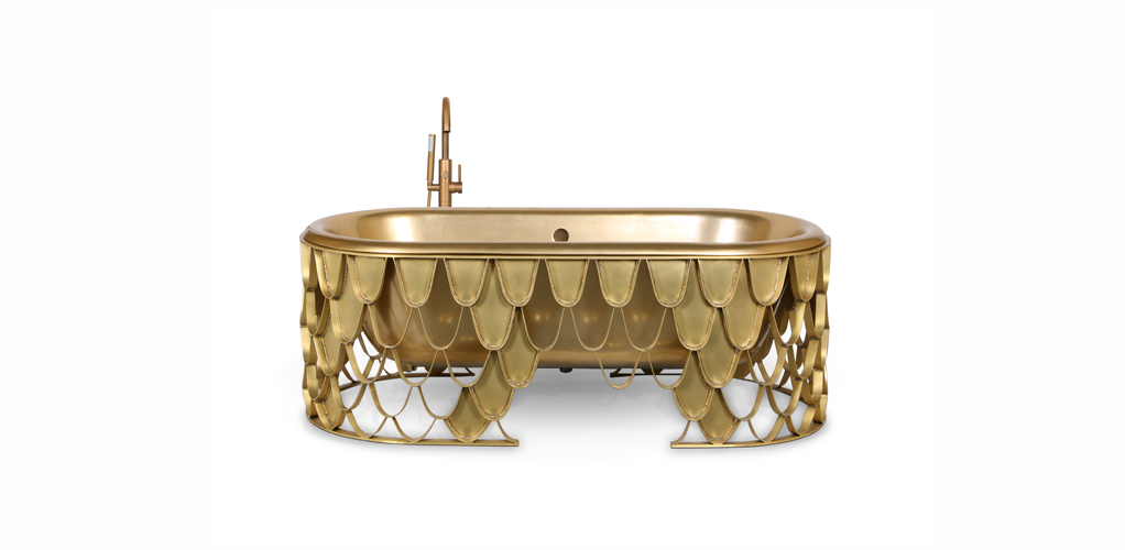 the perfect way to introduce metallics into your bathroom the perfect way to introduce metallics into your bathroom The perfect way to introduce metallics into your bathroom Unique Collection of Stunning Bathtubs For Luxury Bathrooms 2 1