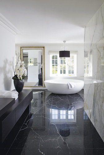 4 amazing black and white bathroom ideas