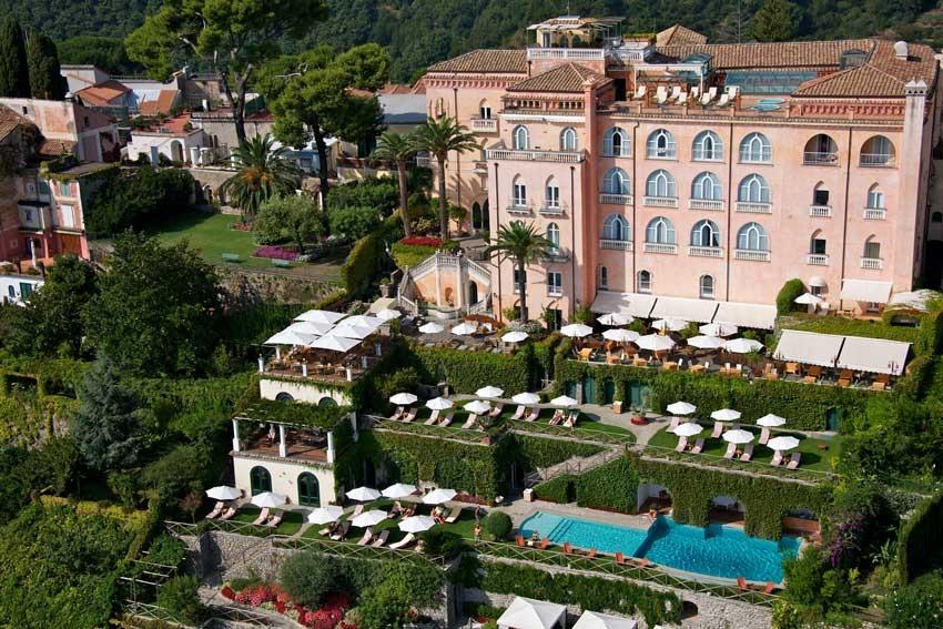 5 best hotels in the world 5 best hotels in the world The 5 Best Hotels in the World to Book on Your Next Trip ravello weddings palazzo avino aerial