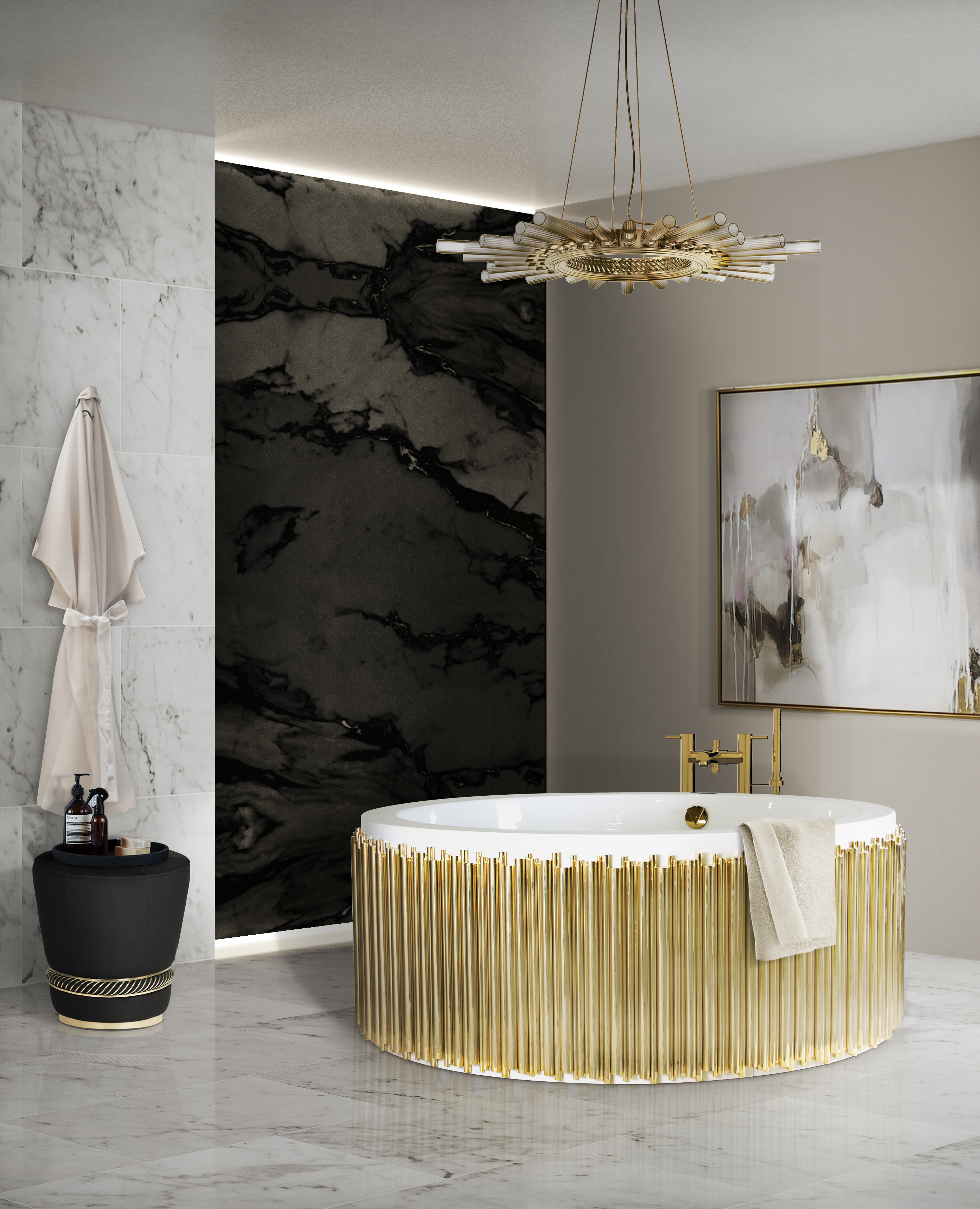 How To Achieve Luxury With Marble Bathroom Designs