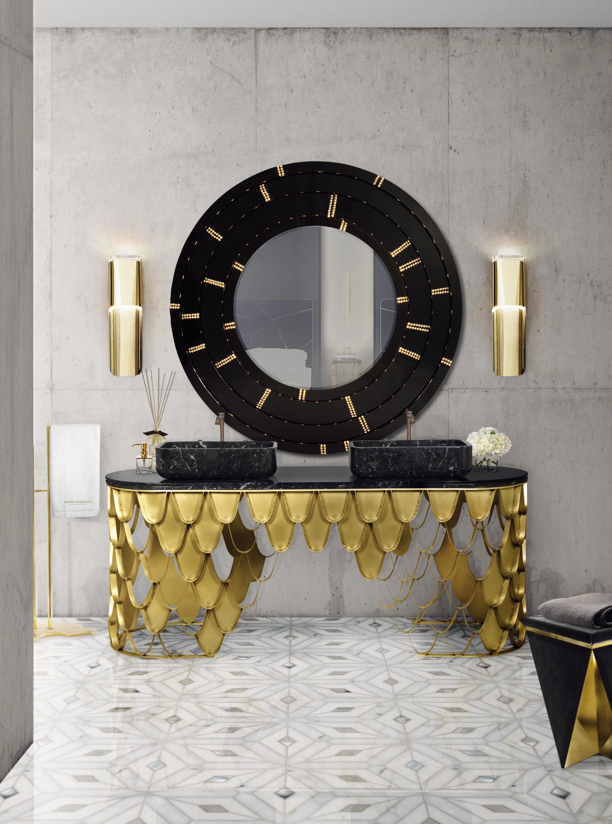 10 Dreaming Luxury Bathrooms For Your Master Bedroom 29 koi washbasin blaze mirror eden towel rack HR