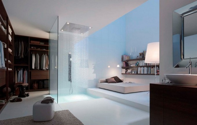 top bathroom designers Top Bathroom Designers That Will Elevate Your Bathroom With Their Projects Philipe Starck ensuite bathroom dressing room