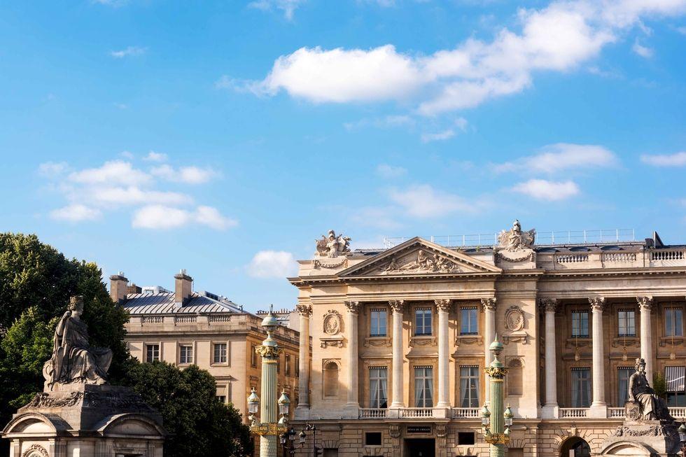 Hôtel De Crillon Hôtel De Crillon The Parisian Hôtel De Crillon Gets A Fashionable Renovation ho tel de crillon facade 1499804875