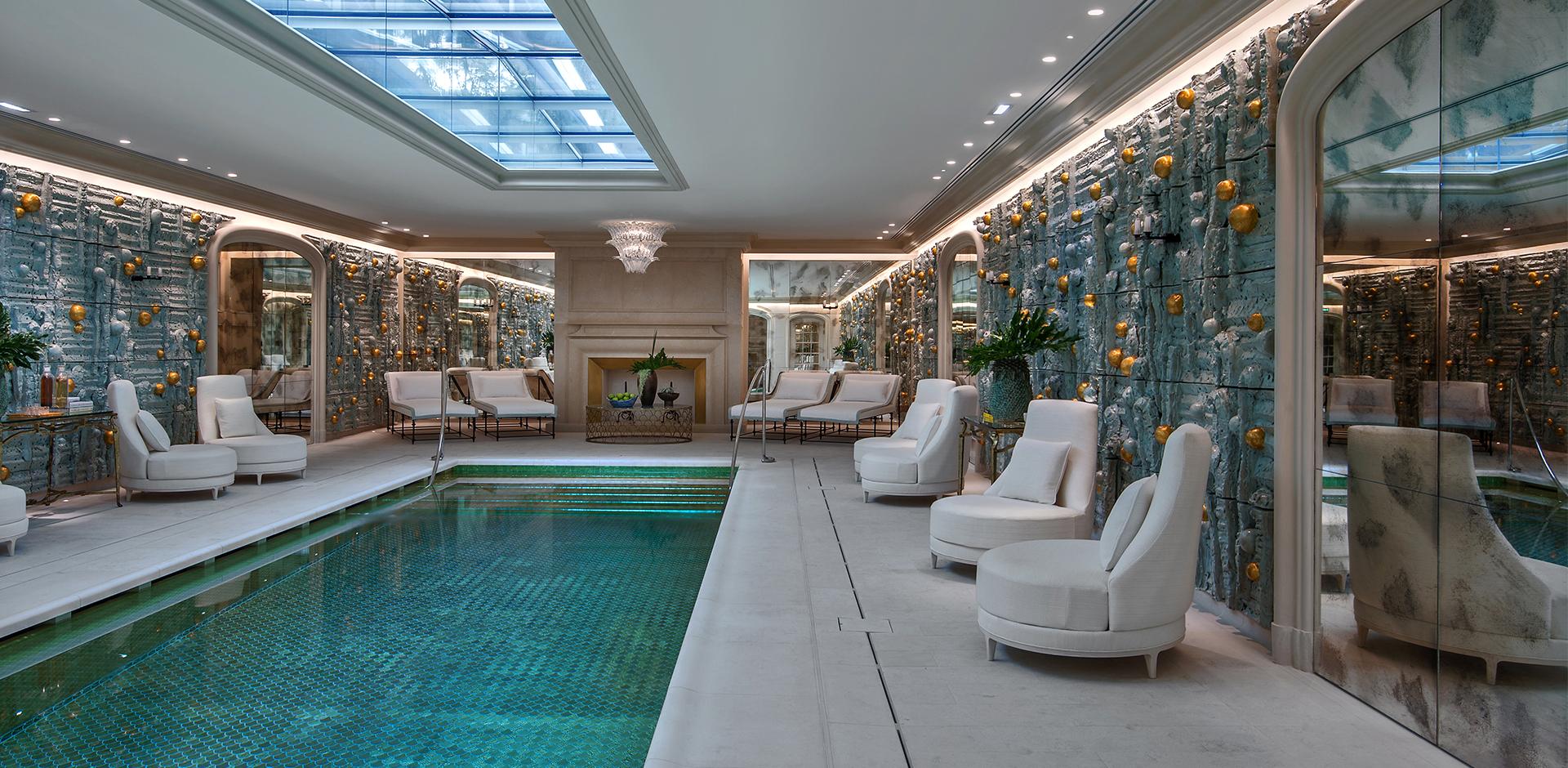 Hôtel De Crillon The Parisian Hôtel De Crillon Gets A Fashionable Renovation pool