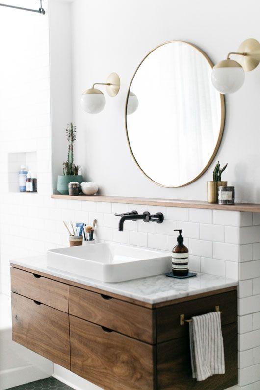 Bathroom with Wood bathroom with wood How to Decor Your Amazing Bathroom with Wood 3a5a5e60afc5f878e1621e4c6a7e2fda