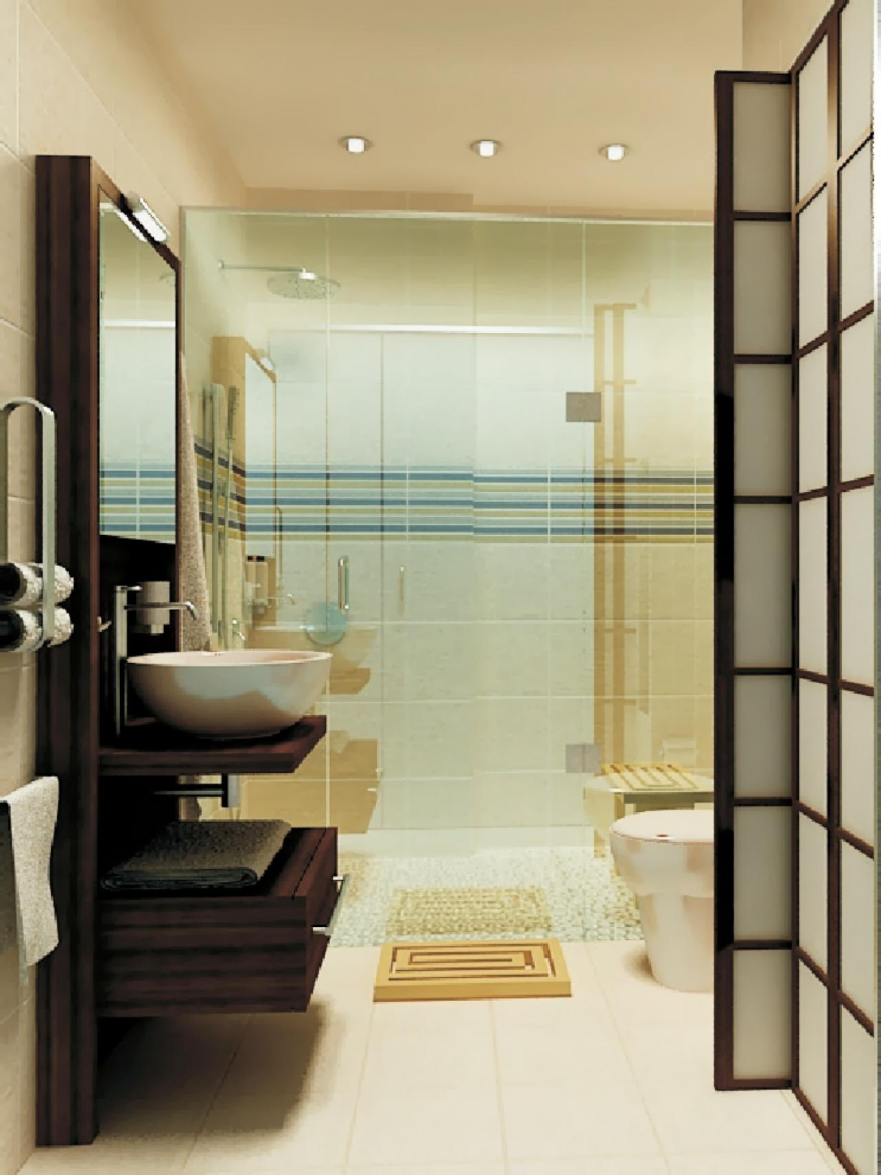 Small luxury bathrooms - Small bathroom floor plans with shower ...