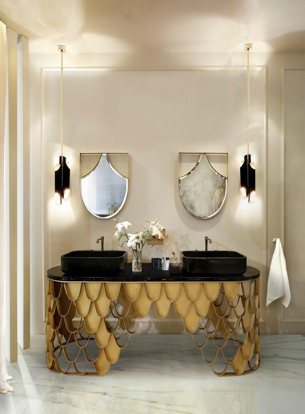 Beautiful and Unusual Washbasins for Luxury Bathrooms Beautiful and Unusual Washbasins for Luxury Bathrooms Beautiful and Unusual Washbasins for Luxury Bathrooms 40 koi washbasin koi mirror 1 HR
