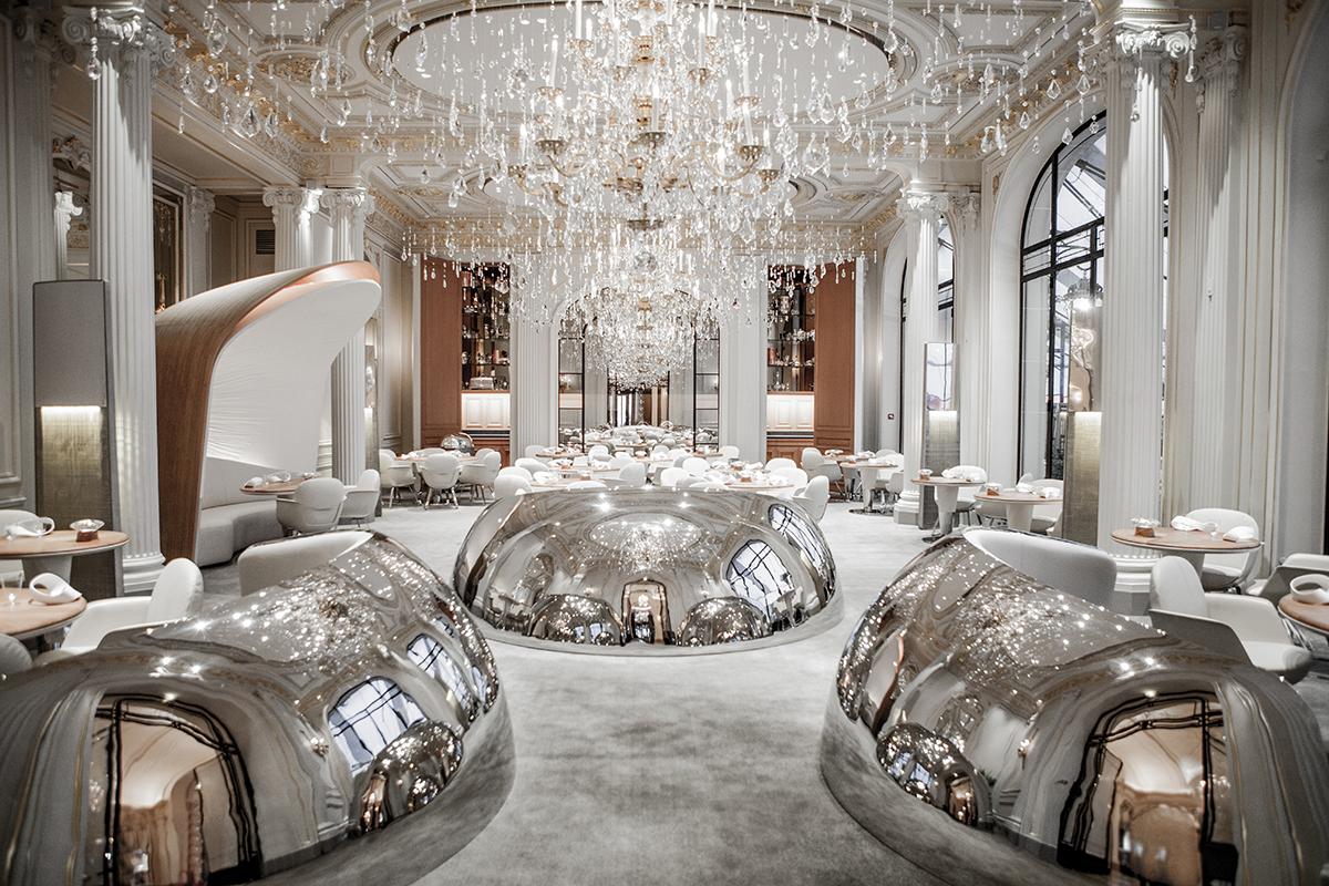 Lavish Restaurants in Paris  Lavish Restaurants in Paris Lavish Restaurants in Paris for 2018 alain ducasse au plaza athenee paris restaurant 1200 1