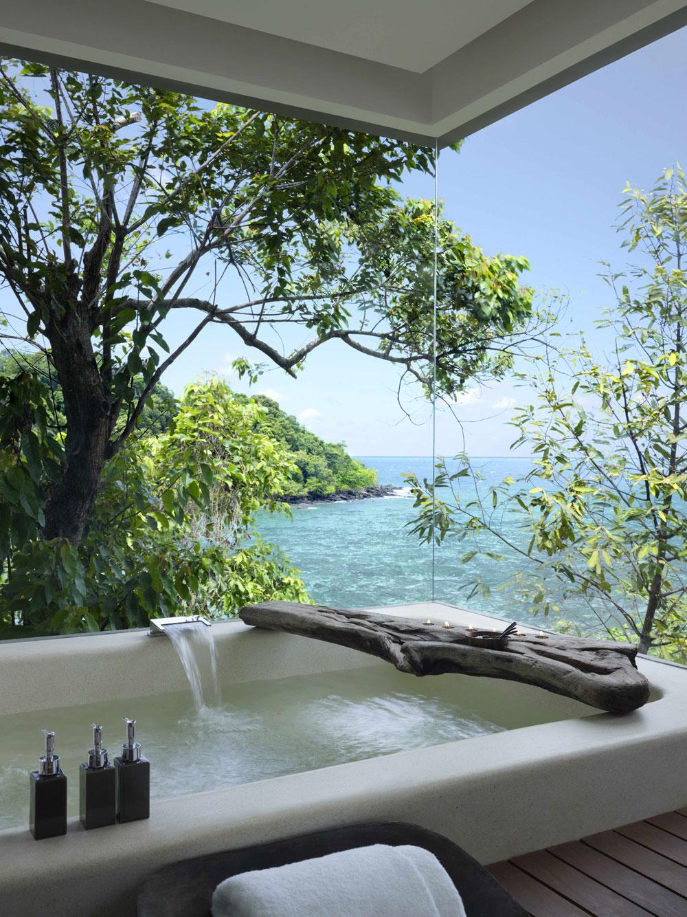 Beautiful Bathtubs with Stunning Views Beautiful Bathtubs with Stunning Views TSJ Song Saa Private Island bathroom villa 15