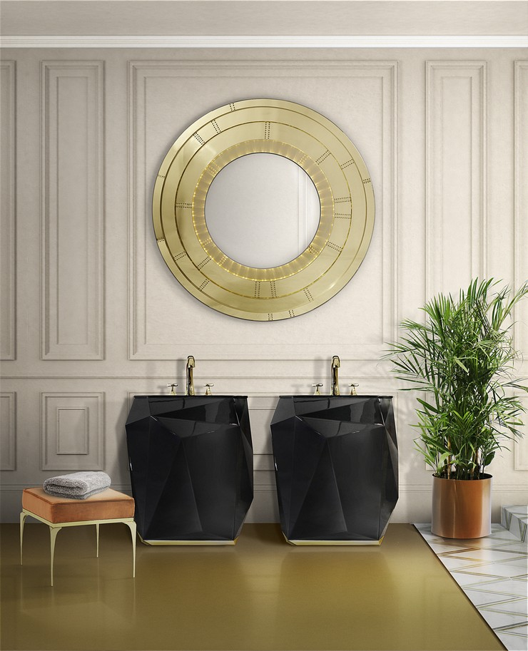 Enhance Your Bathroom Design with Maison Valentina's Curated Mirrors 3 5 Amazing and Mighty Products 5 Amazing and Mighty Products for Your Small Bathroom Enhance Your Bathroom Design with Maison Valentinas Curated Mirrors 3