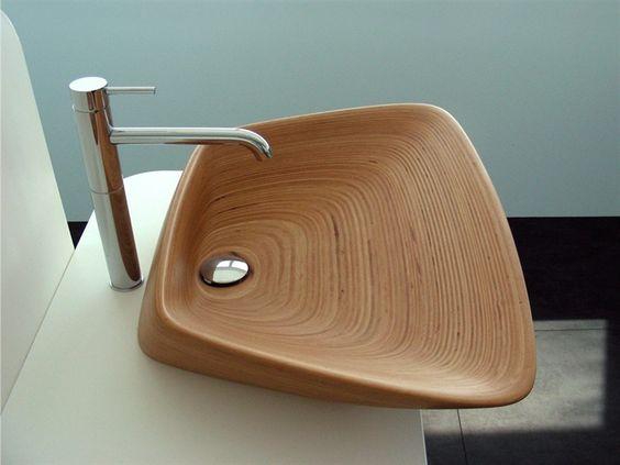 Bathroom With Wood