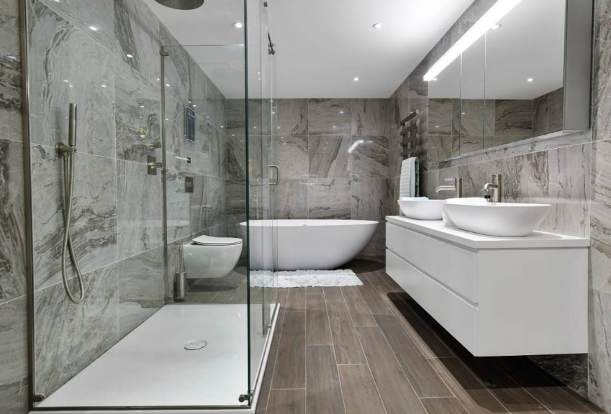 contemporary bathrooms uk 10 walk in showers for your luxury bathroom 12477
