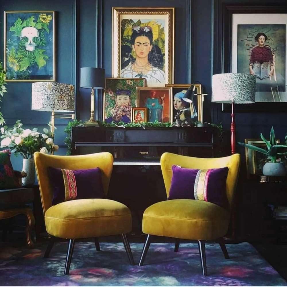 fantastic interiors in the 2018 fall color trends Fantastic Interiors in the 2018 Fall Color Trends Stunning Interiors in the Fall Color Trends 03