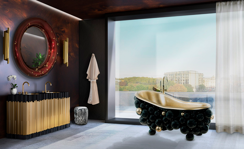 luxury High-End Furniture Brands – The Best Luxury Interior Design Projects 60 hotel bathroom 1 HR